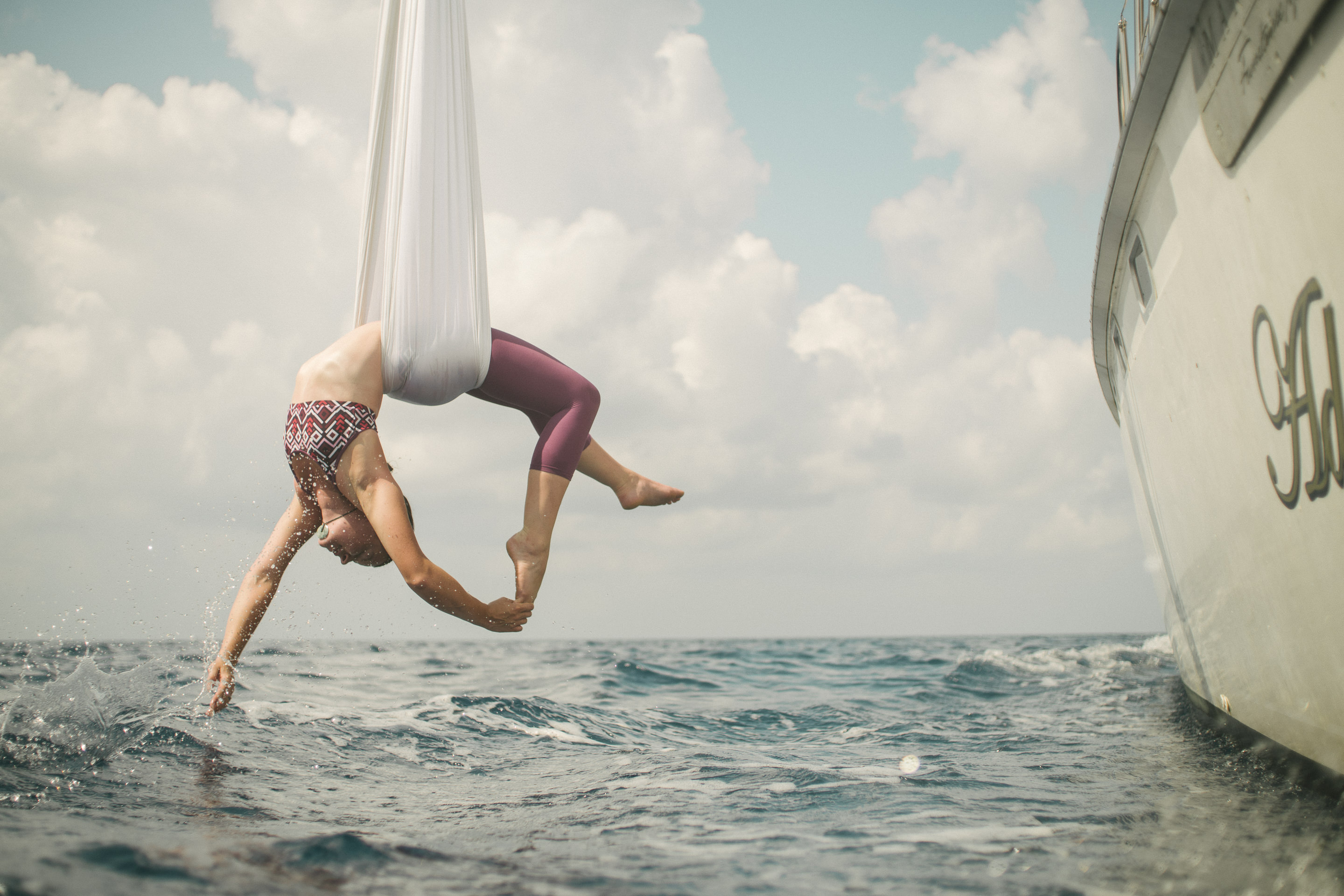 Carribean Sea Aerial Hammock 6
